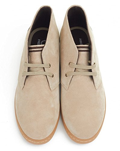 Fred Perry Fp Byron Mid, Bottes pour Homme Sable