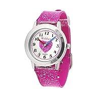 KIDDUS Fabulous Meisjes Horloge voor Kids, Kinderen. Analoog Polshorloge met Time Teacher Exercises, Japanese Quartz Movement. Cool, Elegant en Modieus