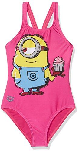 rt Jr Badeanzug für Mädchen, Kind, G Minions Stuart Jr, mehrfarbig (Minion Kostüm Online)