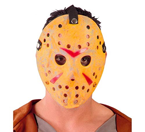Guirca Maschera Jason per Travestimento Hockey Horror Multicolore 2641