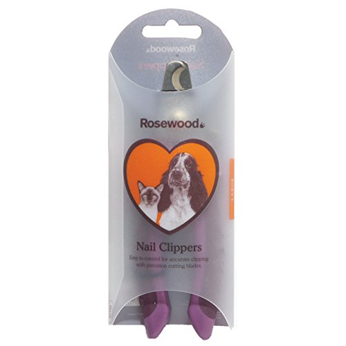 Rosewood 07102 Soft Protection Krallenschere in Salonqualität, Large - 3