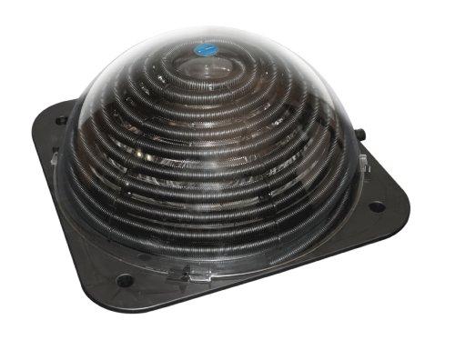 Steinbach Solarheizung Speedsolar deluxe Sonnenkollektor, Schwarz, 78x78 cm