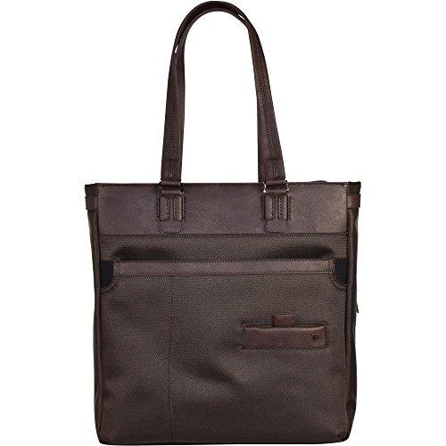 Roncato Harvard Business borsa tote con compartimenti portatile 35 cm Marrone