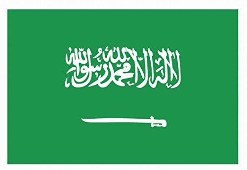 RUNFON 150cm x 90cm Flagge Saudi-Arabien Fahne Saudi-Arabien