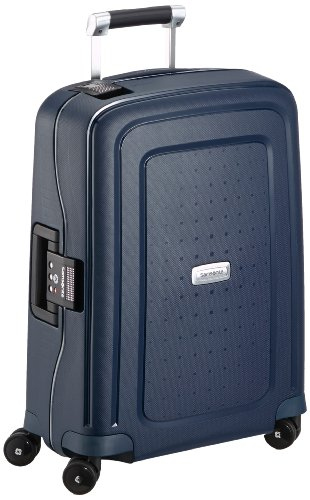 Samsonite - S'cure DLX Spinner 55 cm, Azul (MIDNIGHT BLUE)