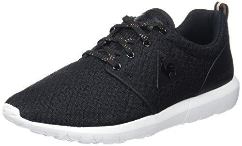 Le Coq Sportif Dynacomf W, Zapatillas para Mujer, Negro (Black/Rose Gold), 38 EU