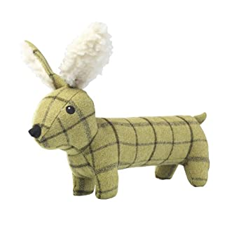 House of Paws Tweed Plush Long Hare Dog Toy, Green 10