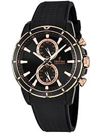 Festina Herren-Armbanduhr Chronograph Quarz Plastik F16852/1