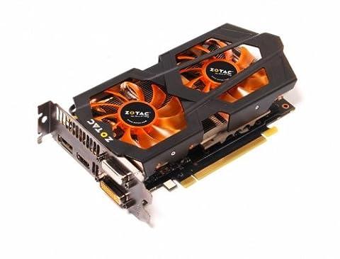 Zotac NVIDIA GeForce GTX 660 Ti Grafikkarte (PCI-e, 2GB GDDR5 Speicher, DVI, HDMI, 1 GPU)
