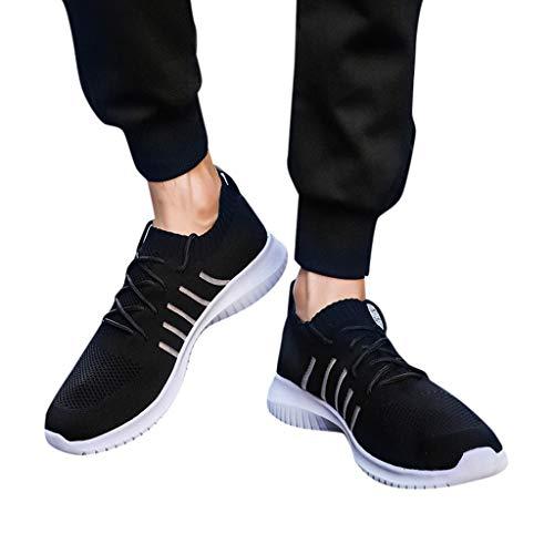 Scarpe da Corsa Traspiranti da Uomo alla Moda 39-48 Scarpe con Fondo Morbido Antiscivolo Scarpe da Fiume Scarpe da Pallacanestro Scarpe da Corsa Festa del papà la Scalata Yoga-Subfamily