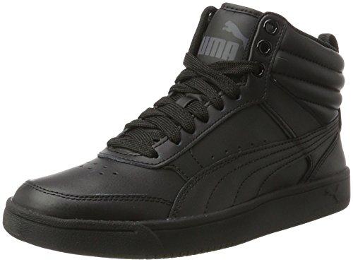 Puma Unisex-Kinder Rebound Street v2 L Jr Sneaker, Schwarz (Black-Black), 36 EU (Puma Die Jungen Kinder Großen Schuhe)