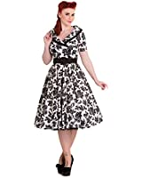 Hell Bunny 50's Honor Vintage Style Floral Dress