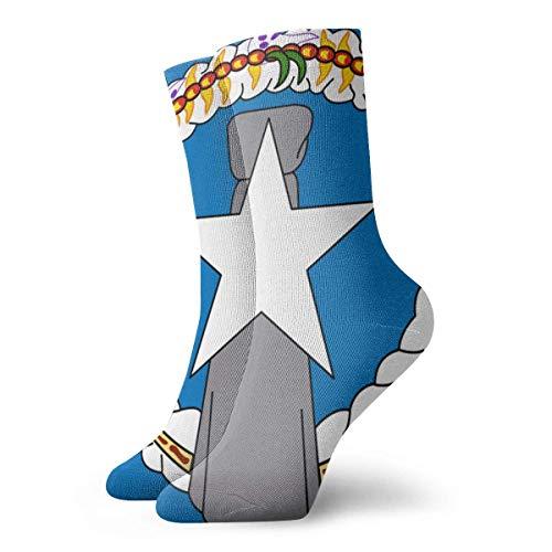 of The Northern Mariana Islands Mannschaftssocken Outdoor Socks for Unisex Over The Knee Socks ()
