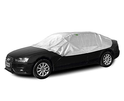 Solux - Sonne und Frost Scheibenschutz - Size und Model: L sedan - Halbgarage Autoabdeckung KEG-SX-L-SED-03