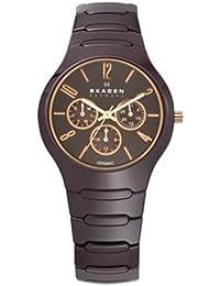 Skagen Damen-Armbanduhr Analog Quarz Keramik 817SXDC1