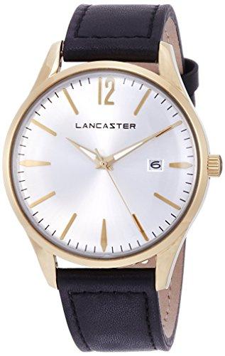 """Lancaster Paris """"Heritage"""" reloj de pulsera blanco hombre"""