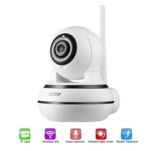 IP Überwachungskamera Innen mit 960P HD-Qualität, Wlan IP Kamera mit Bewegungserkennung und Nachtsicht Funktion, Smart Home Cameras für Baby Monitor Video, Plug/ Play WiFi Sicherheitskamera mit 355°/100° Schwenkbar, Deutscher App (Baby-auto-video-monitor)