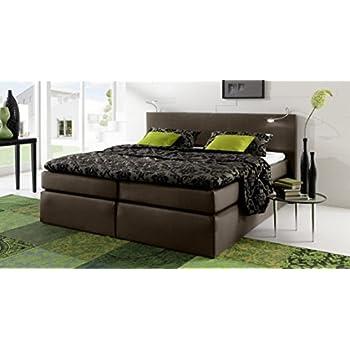 savanna boxspringbett doppelbett h rtegrad 3 160 x 200 cm grau k che haushalt. Black Bedroom Furniture Sets. Home Design Ideas