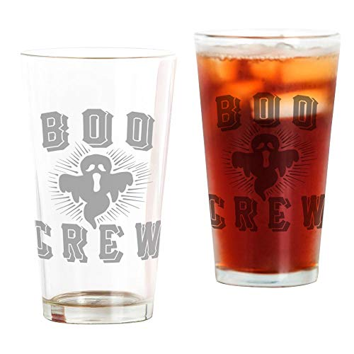 CafePress - Boo Crew Ghost - Pint-Glas, 473 ml Trinkglas