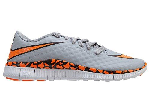 Nike Free Hypervenom (Gs) Jungen Fußballschuhe Grau