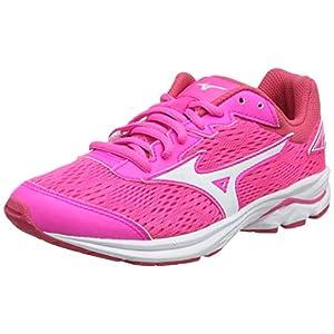 Mizuno Girls' Wave Rider 22 Jr Running Shoes