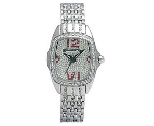 Chronotech Reloj Para Mujer Ct7930Ls M 34/Fashion Rectangular Cristal Acero