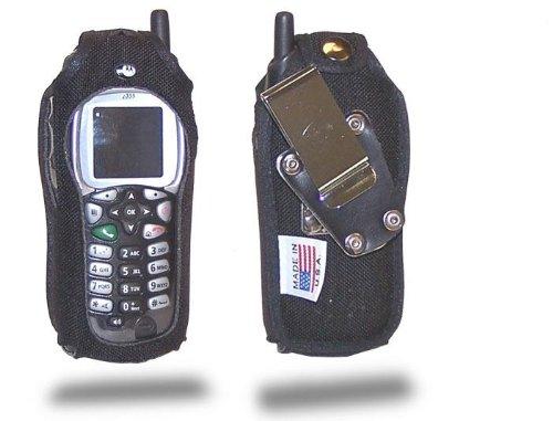 Turtleback Schutzhülle für Nextel i355, Nylon, robust, drehbar, Abnehmbarer Gürtelclip Nextel Motorola I355