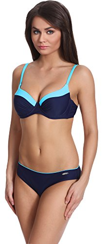 Verano Damen Bikini Set Push Up Frances Navy/Blau