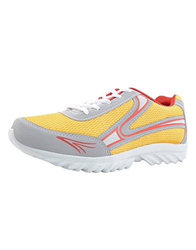 Yepme Men's Multi-Coloured Sports Shoes Mesh YPMFOOT8616_10 UK  available at amazon for Rs.399