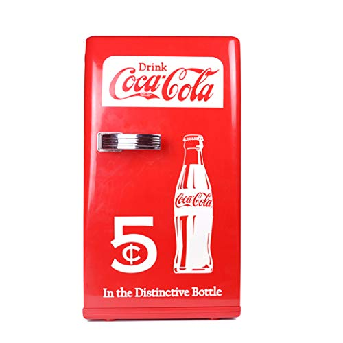 Mini-Kühlschränke Coca-Cola 12L Mini-Kühlschrank, kleine Haushalts Kühlschrank Auto Gefrierschrank Schlafsaal Student Portable Reefer