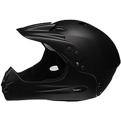 Ventura Downhill - Casco negro negro Talla:large (58 - 62 cm )