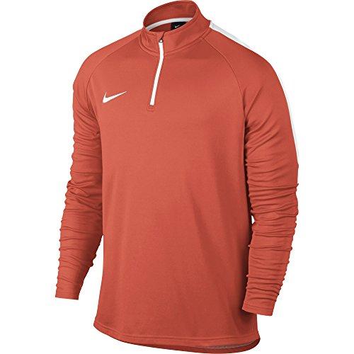 Nike M Dry Dril Acdmy - langärmeliges Top Herren,  Größe L,Orange/White -