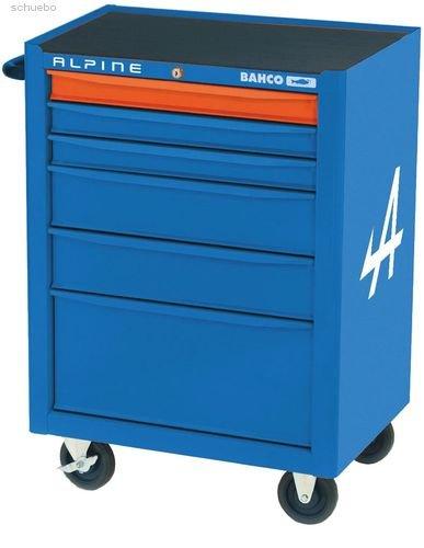 Bahco Werkstattwagen, 12 Schubladen