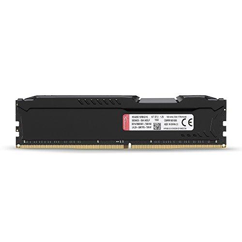 HyperX HX426C15FBK2/16 16GB kit (2x8GB) 2666MHz 1.2V, 288-pin DDR4 Non-ECC CL15 DIMM (Skylake ready) - 4