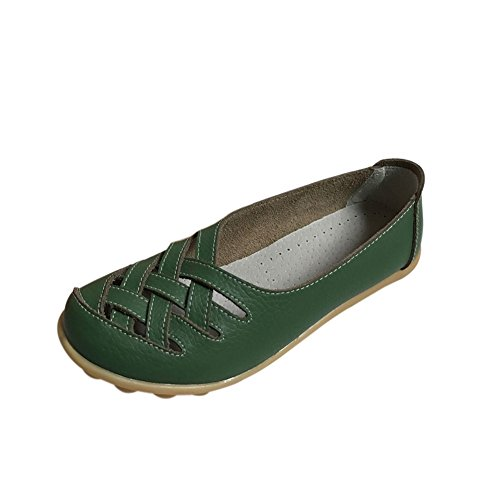 fereshte - Sandali con Zeppa donna Army Green