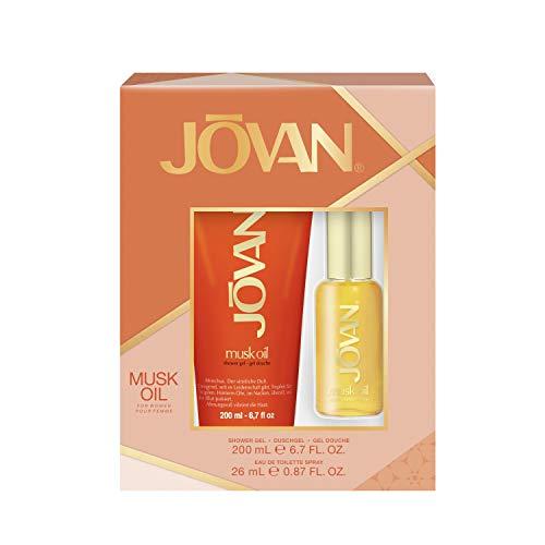 Jovan Duftset Musk Oil for Women Eau de Toilette 26 ml + Showergel 200 ml, 226 ml - Jovan Musk Set