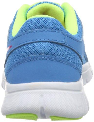 Nike Flex Experience 599344-401 Mädchen Laufschuhe Blau (Vivid Blue/Vivid Pink-Vivid Blue-Volt Ice)