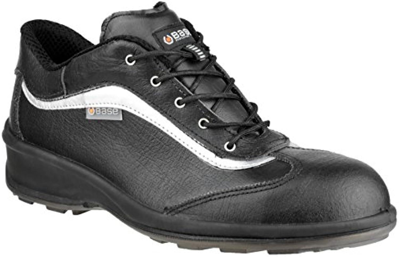 Base B315-S3-T37 - B315 Zapato Señora Negro Cuero S3-T37