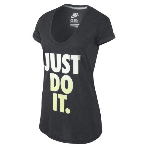 Nike t-shirt pour homme just do it moucheté Gris - Gris foncé