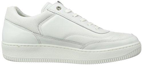 Pantofola d'Oro Herren Basilio Uomo Low Top Weiß (Bright White)