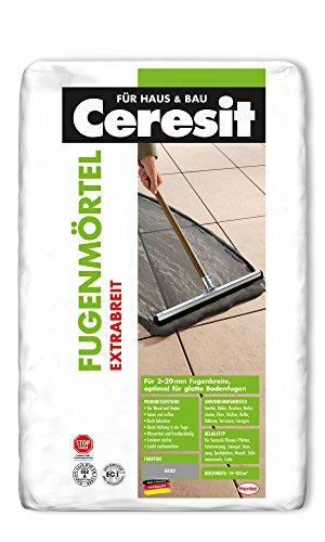 Ceresit Fugenmörtel Extrabreit, 2-20 mm, 20 kg, grau, CB2GR