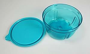 TUPPERWARE TurboTup Récipient 300 ml turquoise + Couvercle
