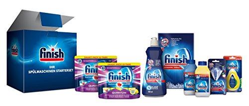 Finish-Spülmaschinen-Starterset mit 8 Artikeln