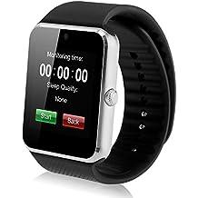 CFZC reloj inteligente. Reloj de pulsera con ranura para tarjeta SIM, con cámara y