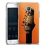 DeinDesign Samsung Galaxy Grand Prime Hülle Case Handyhülle Gitarre Saiten Instrument