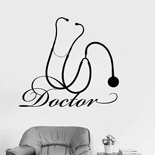 Yzybz Wandtattoo Arzt Krankenhaus Medizinisches Werkzeug Medizin Kunst Dekor Aufkleber Für Fensterglas Wand Leicht Abnehmbare Abziehbilder Schlafzimmer