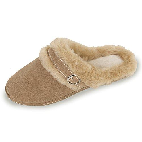 isotoner-pantofole-donna-beige-beige-41
