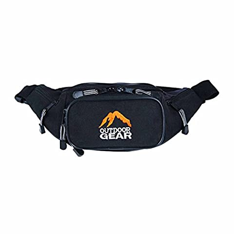 OUTDOOR GEAR Bumbag Travel Waist Pouch Festival Holiday Money Belt Passport Wallet for Mens / Women - Up to 50