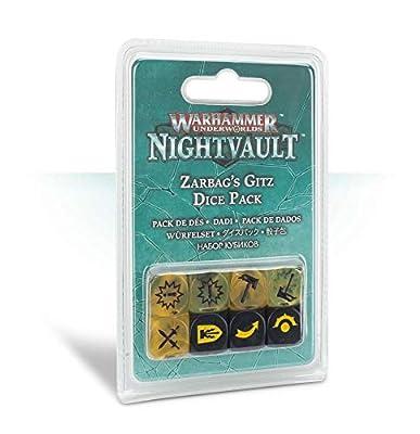 Warhammer Underworlds: Nightvault – Zarbag's Gitz Dice