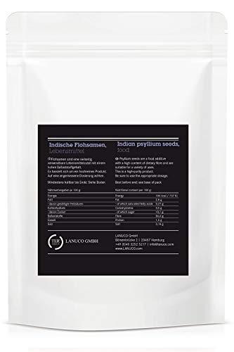 5 x 1 kg Flohsamen – 99% Reinheit, laktosefrei und glutenfrei, Premium, ganze indische Flohsamen, zum Backen, für Verdauung